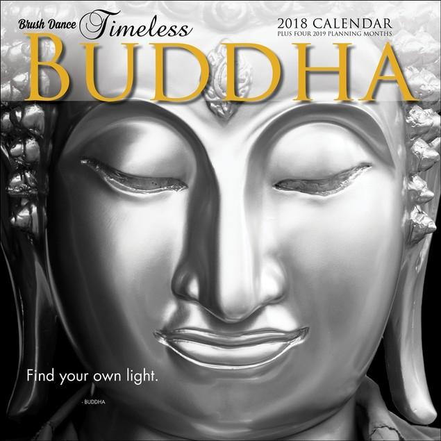 Timeless Buddha Wall Calendar, Eastern Religion by Calendars