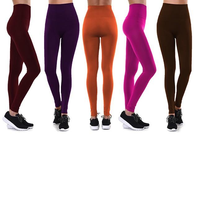 6-Pack Mystery Deal: Women's Ultra-Soft Fleece-Lined Leggings