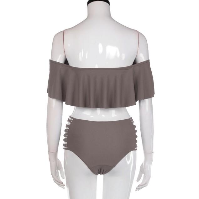 Women Sexy Bandage Bikini Set Push-up Padded Bra Swimsuit Swimwear
