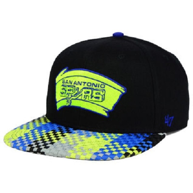 "San Antonio Spurs NBA 47 Brand ""Ruffian"" Snapback Hat"
