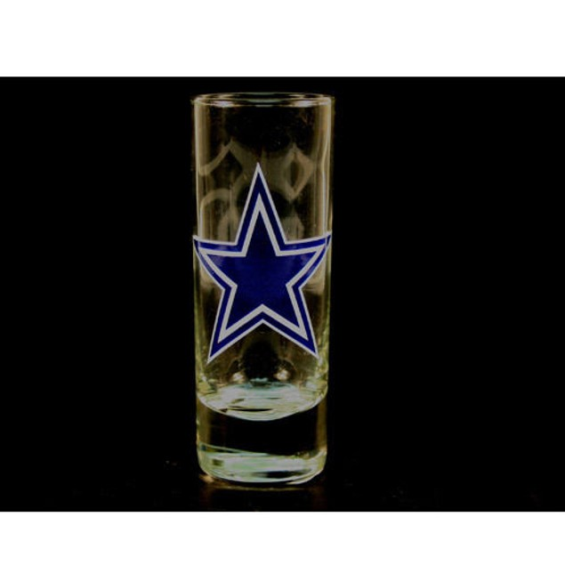 "Dallas Cowboys NFL ""Hype"" Tall Shot Glass"