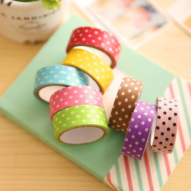 8 Piece Tape Stickers for Scrapbooking Decoration