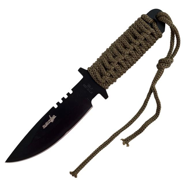 Whetstone Survivor Stainless Steel Knife - 7.375 inches