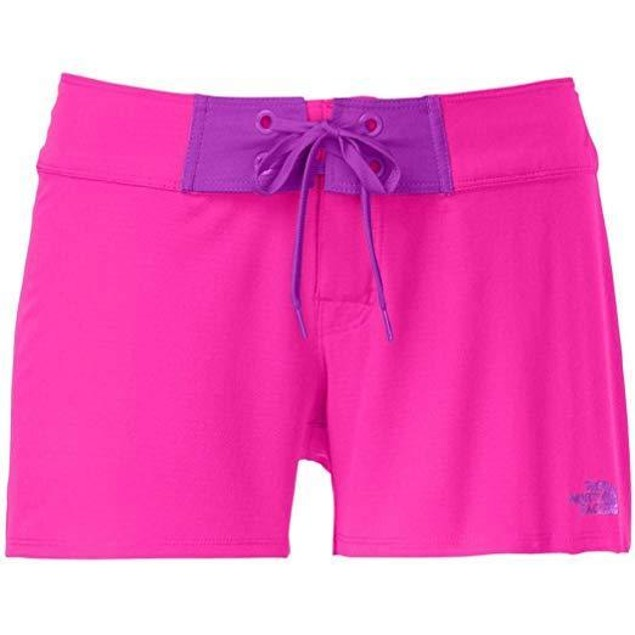 The North Face Women's Pacific Creek Boardshort Glo Pink 10