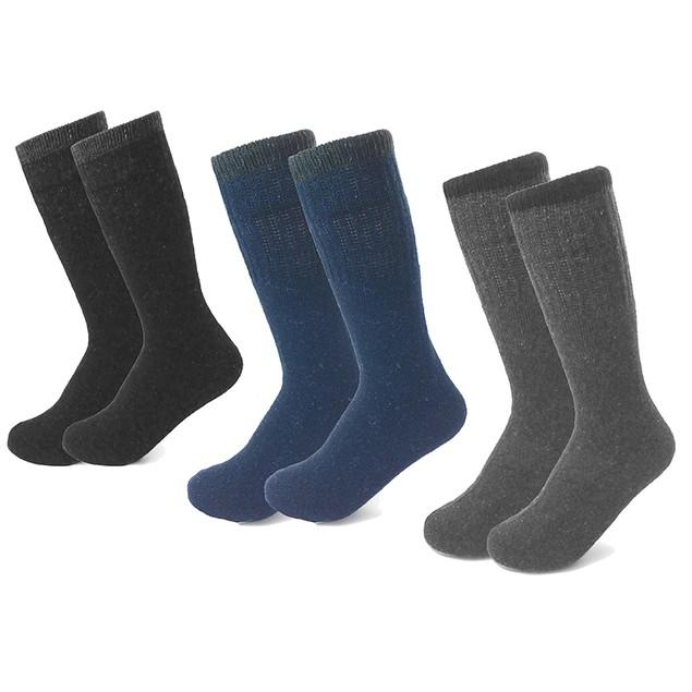 6-Pairs All Season Heavyweight Working Men's Socks