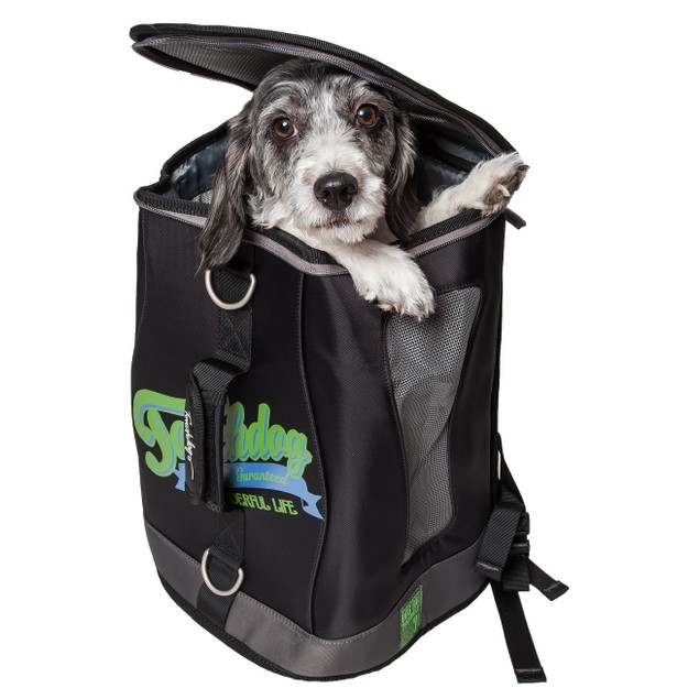 Touchdog Ultimate-Travel Airline Tri-Carrying Water Resistant Carrier