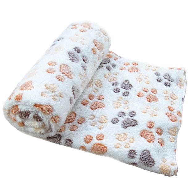 Warm Fleece Pet Blanket - Assorted Colors