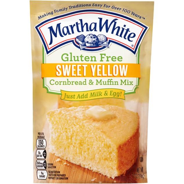 Martha White Gluten Free Sweet Yellow Cornbread & Muffin Mix