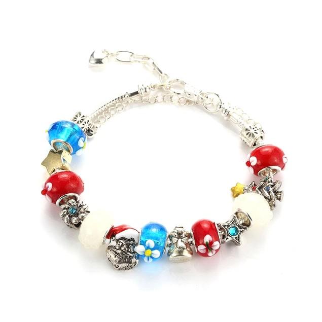 Novadab Happy Holidays Festive Charms Bracelet