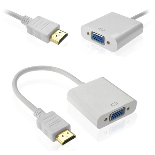 1080P HDMI Male to VGA Female Video Converter Adapter Cable