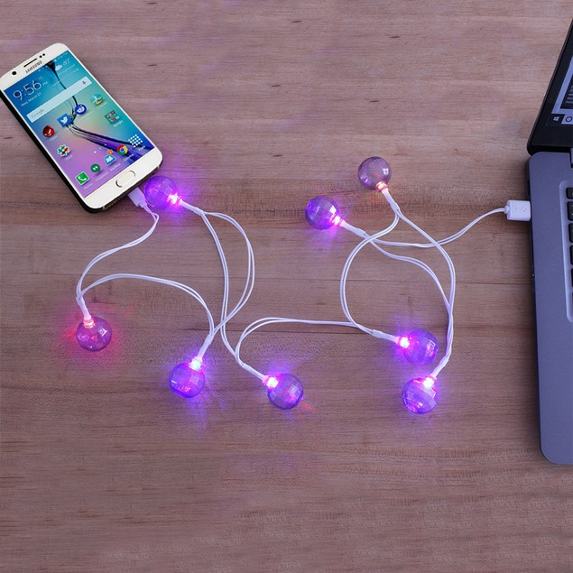 Android LED Light Charging Cables | Assorted Styles