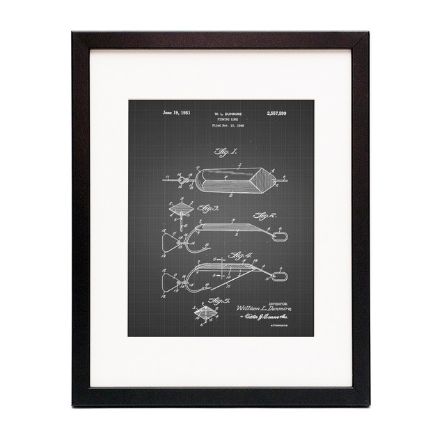 Spoon Fishing Lure Poster
