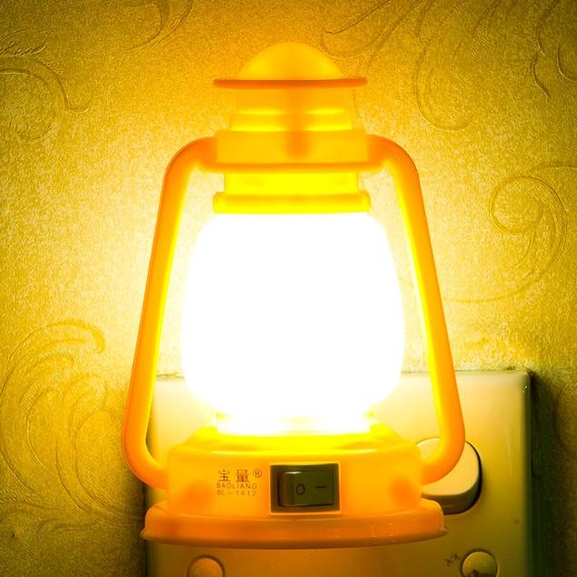 Flat plug Rated voltage 110-220V Ship Lights LED Nightlight