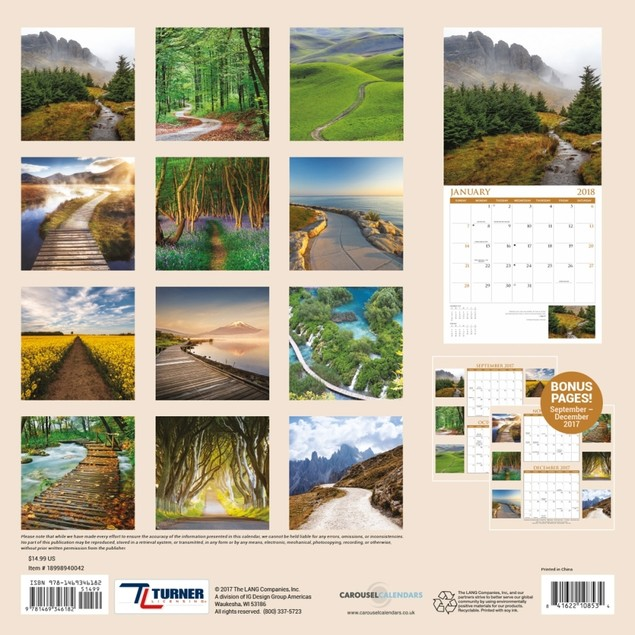 Turner Licensing Pathways Office Wall Calendar (18998940042)