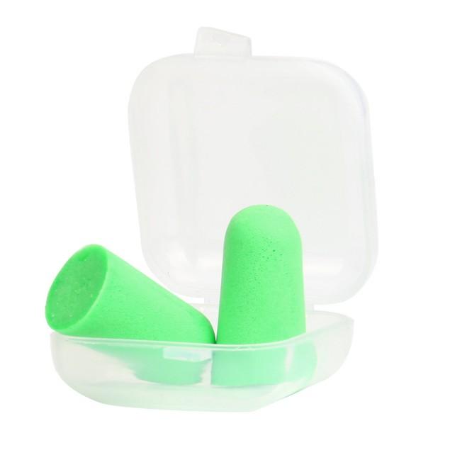 Soft  Ear Plugs Tapered Travel Sleep Noise Prevention Earplugs