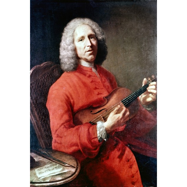 Jean Philippe Rameau /N(1683-1764). French Composer And Music Theorist. Oil