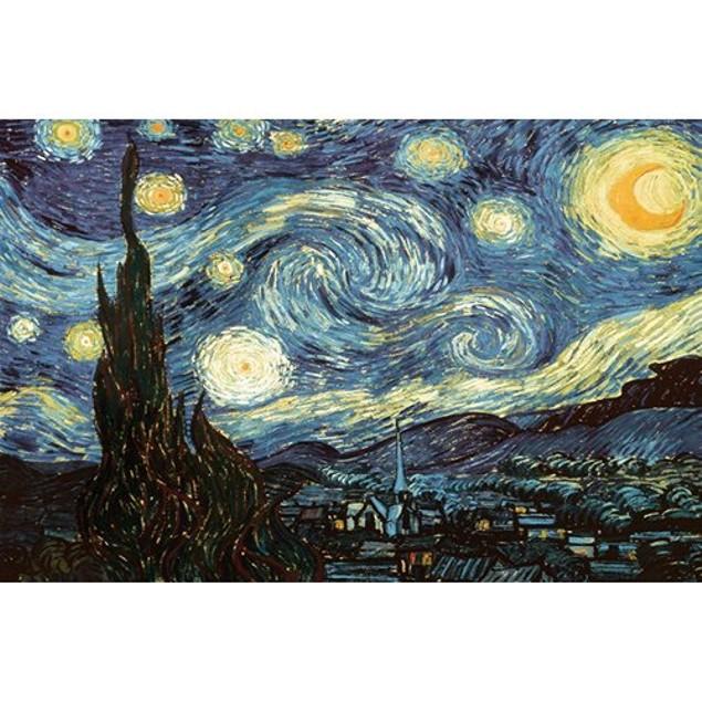 Van Gogh 1000 Piece Puzzle, 1,000 Piece Puzzles by Go! Games