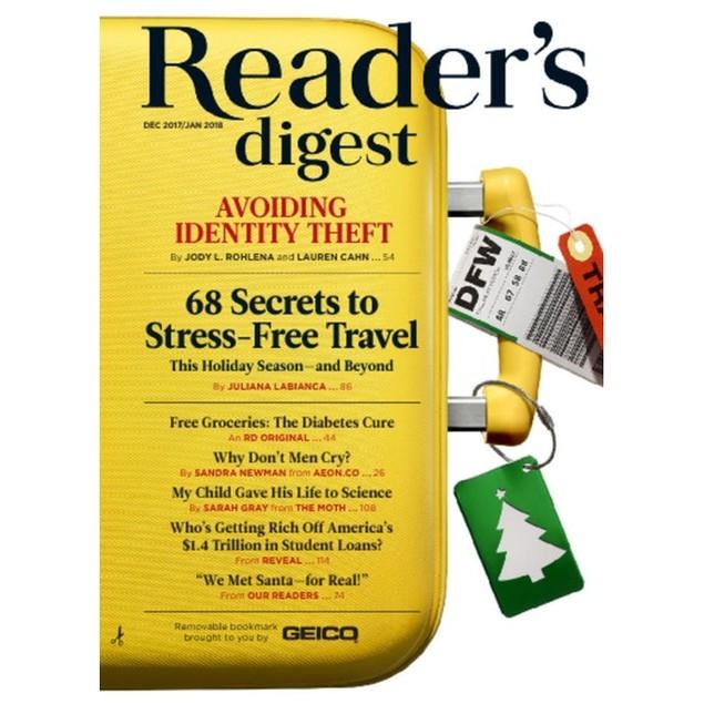Reader's Digest Large Print Magazine Subscription