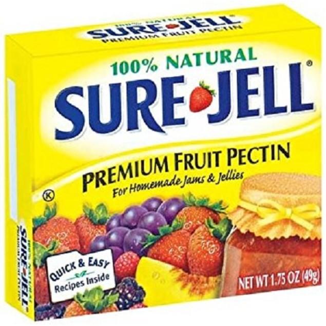 Sure Jell Certo 100% Natural Premium Fruit Pectin