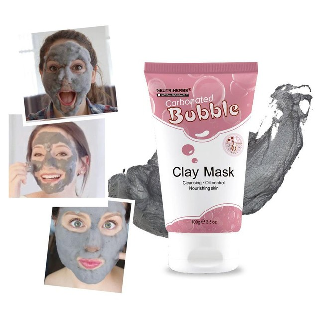 Bubble Clay Mask
