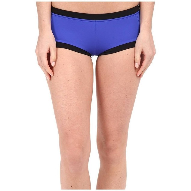 Seafolly Block Party Boyleg Women's Swimwear Blue Ray SZ: 6