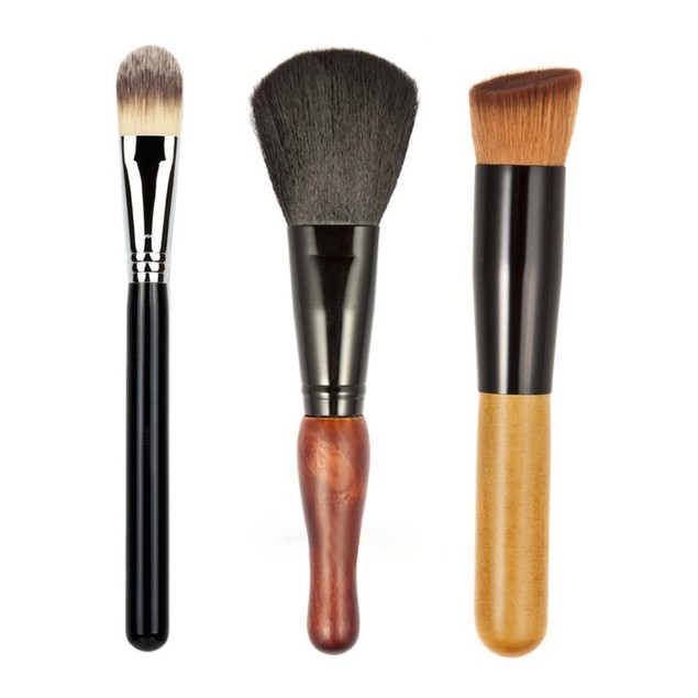 7Pcs Makeup Cosmetic Brushes Eyeshadow Lip Brush Tool