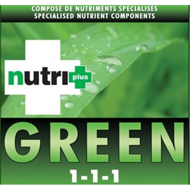NUTRI+ GREEN MICRO AND MACRO NUTRIENT SOLUTION 1 Liter