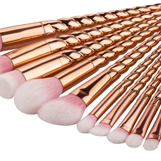 12PCS  Make Up Foundation Eyebrow Eyeliner Blush Cosmetic Brushes