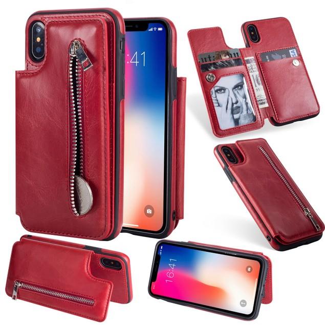 Zipper Wallet Case