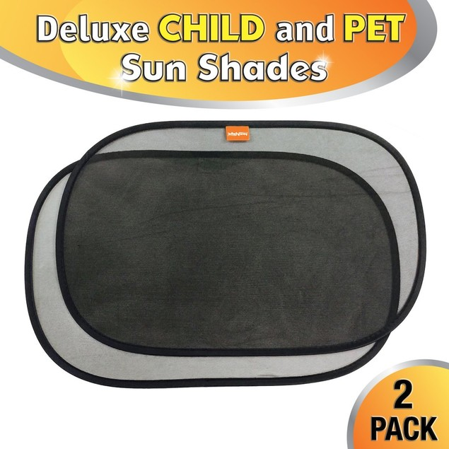 Car Sun Shade - Static Cling Auto Window Shades - Super UV Protection