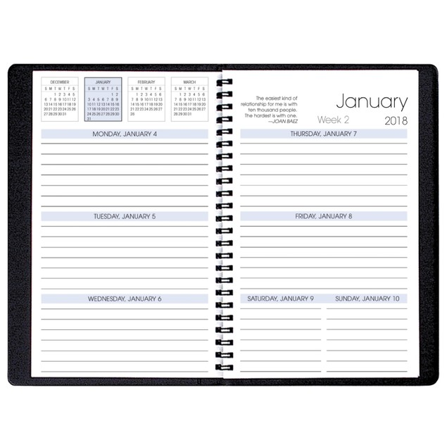 Woodlands Softcover Weekly Planner, Weekly Planners by Payne Publishers