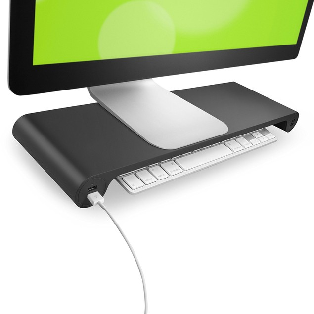 Quirky Spacebar POP Monitor Stand and 6-Port USB Hub