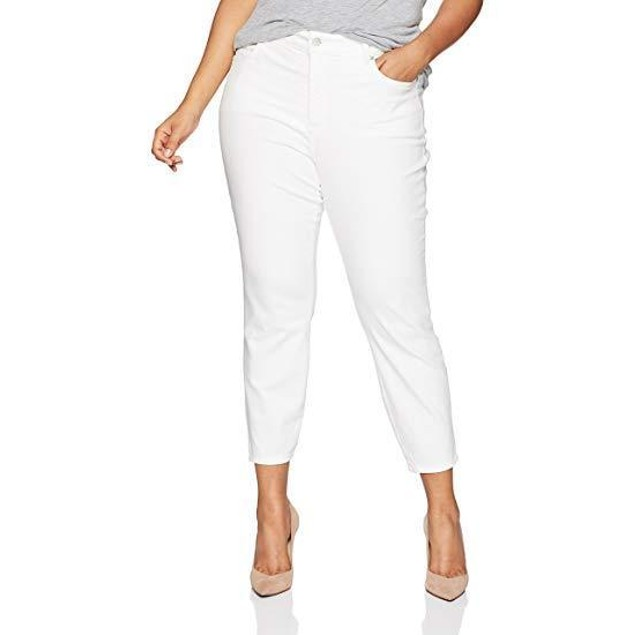 NYDJ Women's Plus Size Ami Skinny Ankle with Slit Clean