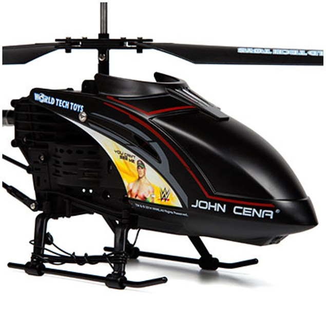3.5ch Jon Cena WWE Unbreakable Remote Control Gyro Helicopter