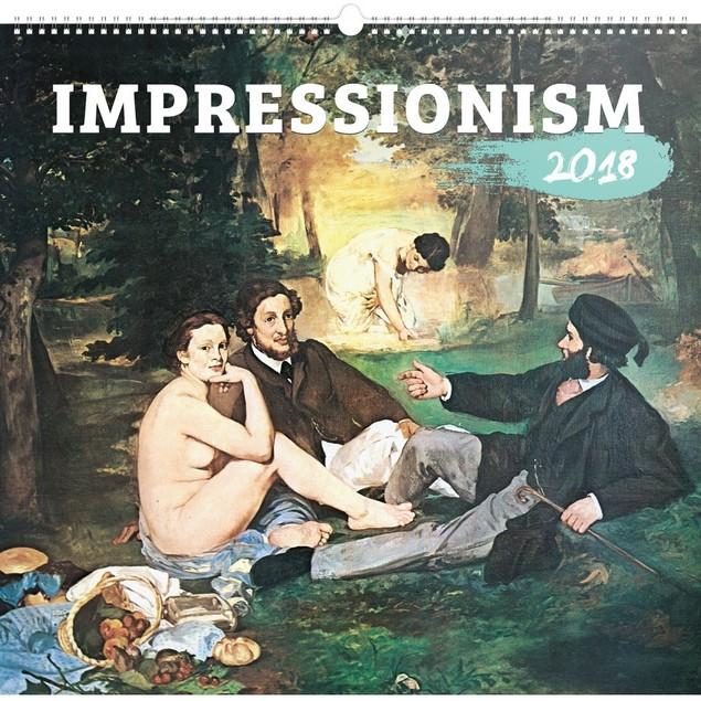 Impressionism Poster Calendar, Fine Art by Presco Group