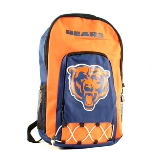 """Chicago Bears NFL """"Echo Bungee"""" Backpack"""