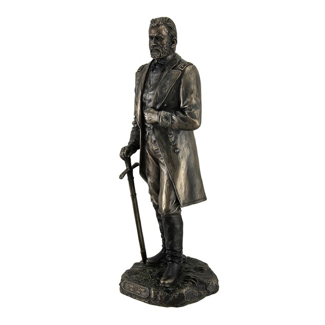 Ulysses S. Grant 18Th Us President Standing In Statues