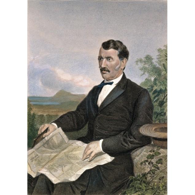 David Livingstone /N(1813-1873). Scottish Missionary And Explorer. Steel En