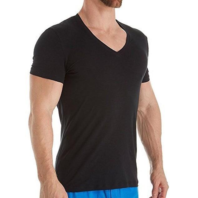 La Perla Mens Cotton Club V‑Neck T‑Shirt (XX-Large)