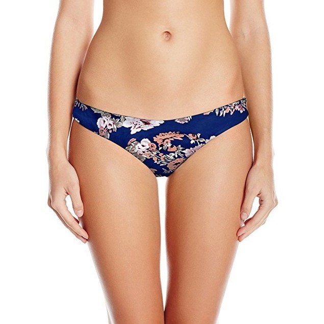 Seafolly Women's Vintage Wildflower Brazilian Pant Bikini Bottom sz: 1