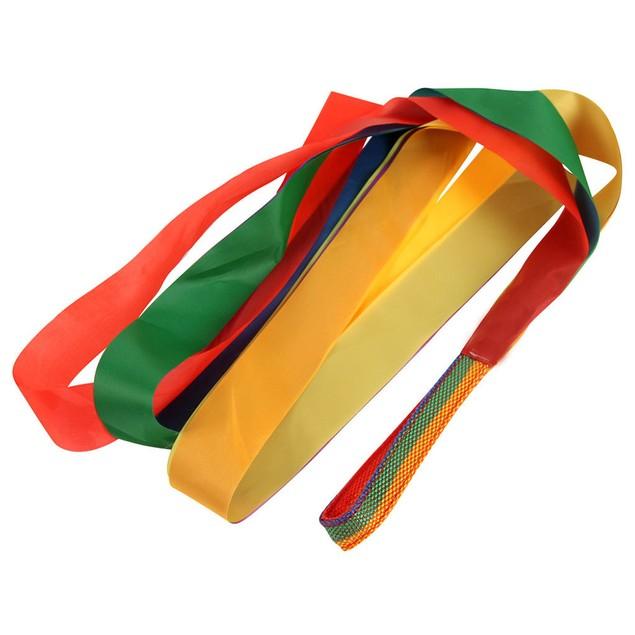 Gym Dance Ribbon Rhythmic Art Gymnastic Streamer Baton Twirling Rod