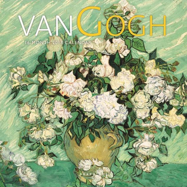 Van Gogh Mini Wall Calendar, Fine Art by Calendars