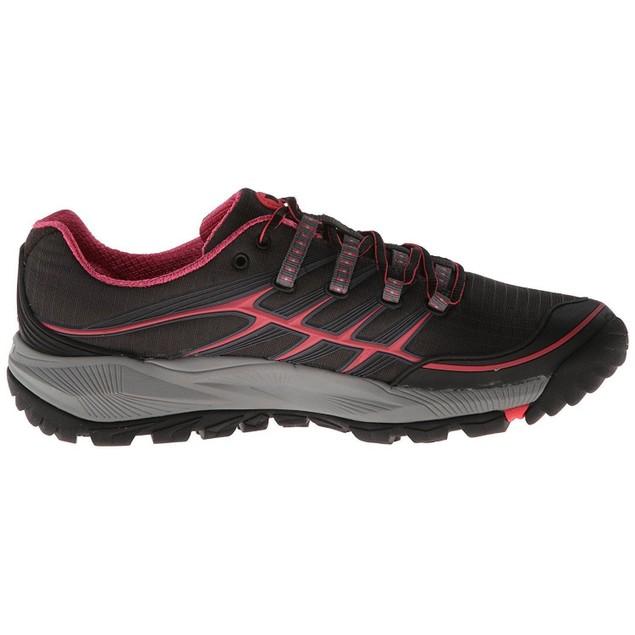 Merrell Women's Trail Running Shoe,Black/Paradise Pink,J06482 SIZE 5