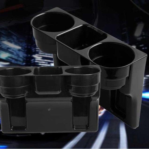 2 Cup Holder Drink Beverage Seat wedge Car Auto Truck Universal Mount