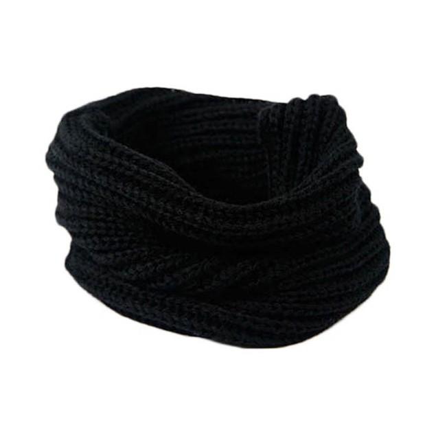 Warm Knit Neck Circle Wool Blend Cowl Snood wool Scarf