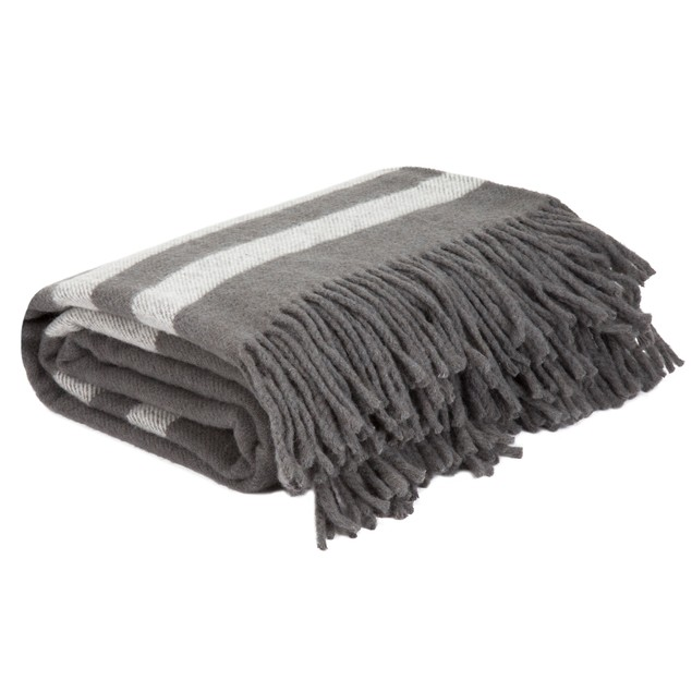 Lavish Home Australian Wool Blanket Throw