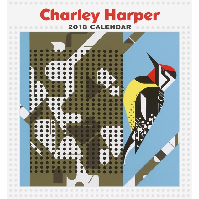 Charley Harper Mini Wall Calendar, Fine Art by Pomegranate