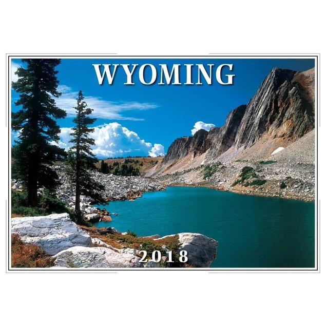 2018 Wyoming Wall Calendar