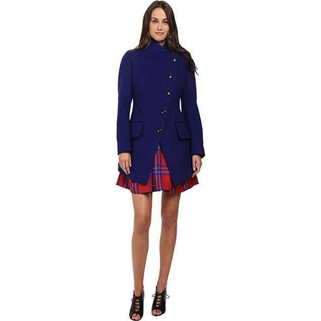 Vivienne Westwood Women's State Coat Royal Blue 44 (US 8)