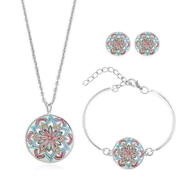 Mandala Jewelry Set